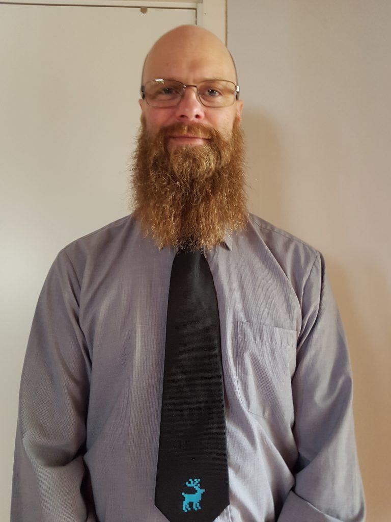 Niklas slips fredag skägg