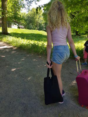 väskor ska bäras