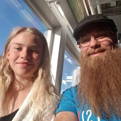 Från flygplatsen i Umeå